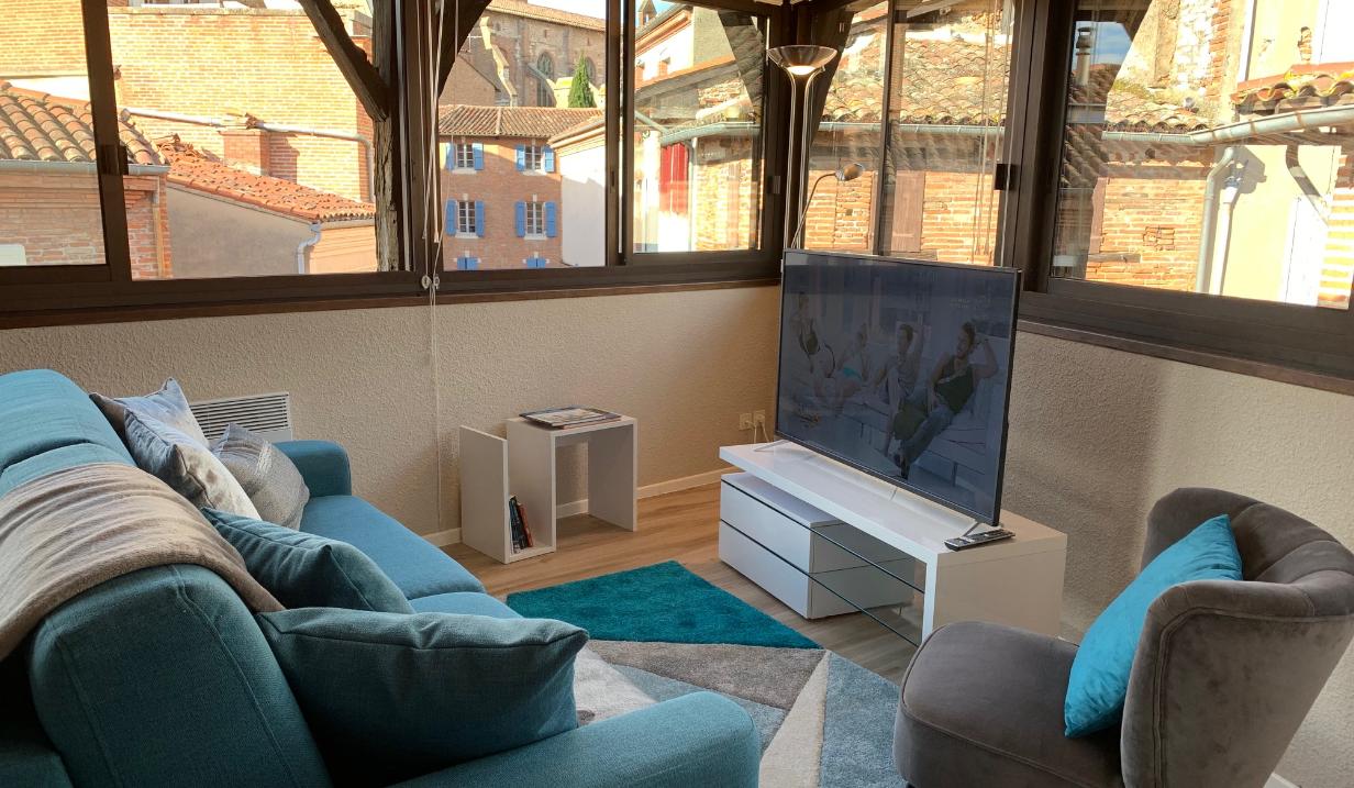 Location de Vacances Albi – elodie Carles Appartement Azur