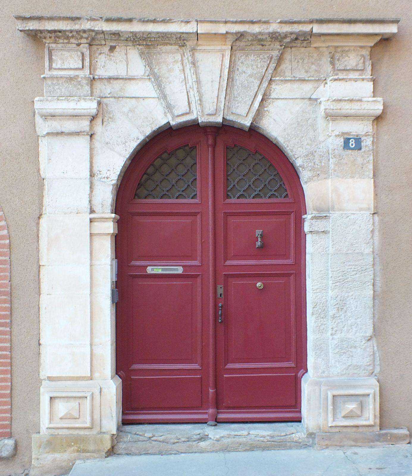 Portail d'entrée Hôtel de Combettes