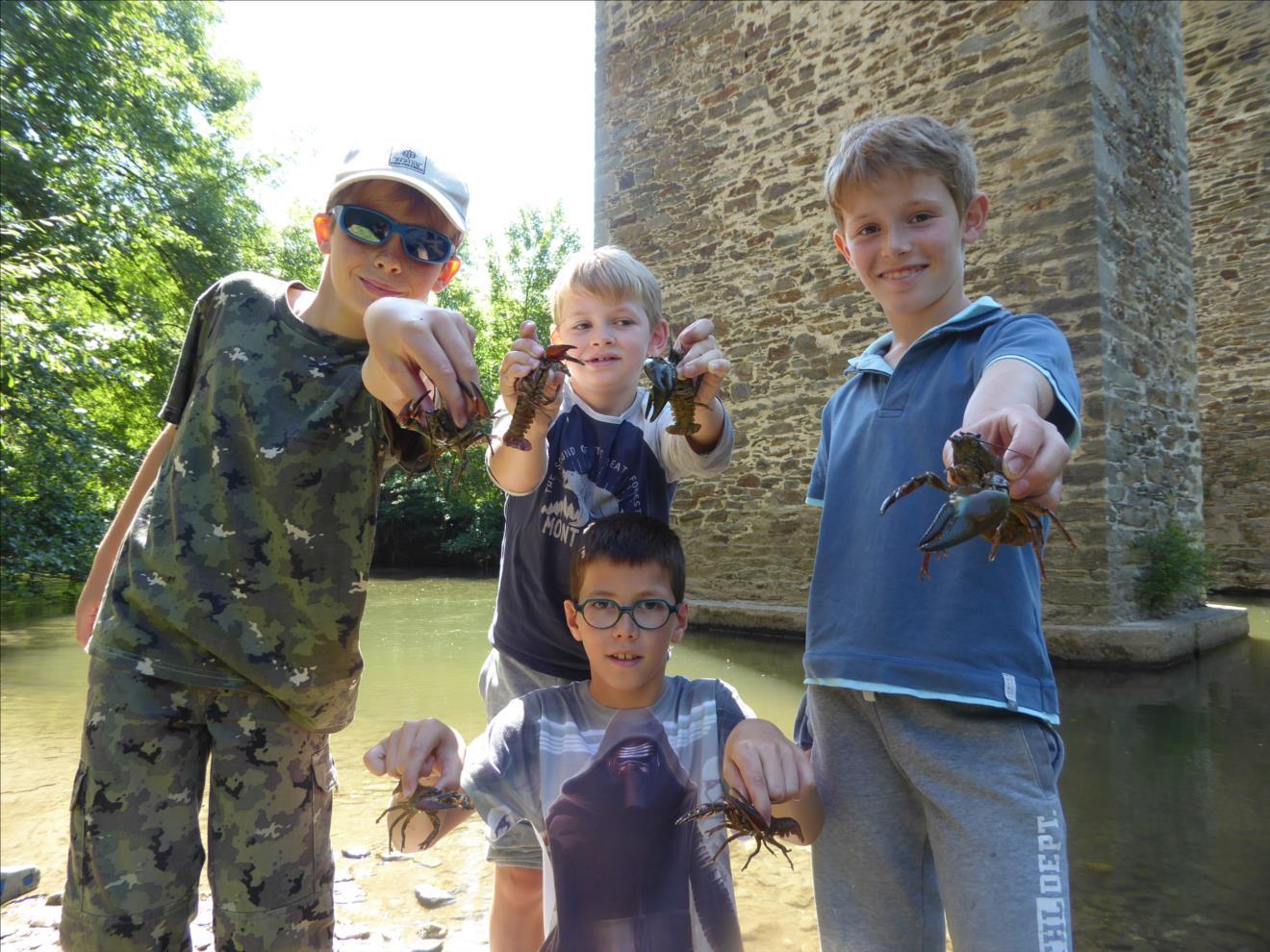 séjour pêche enfant
