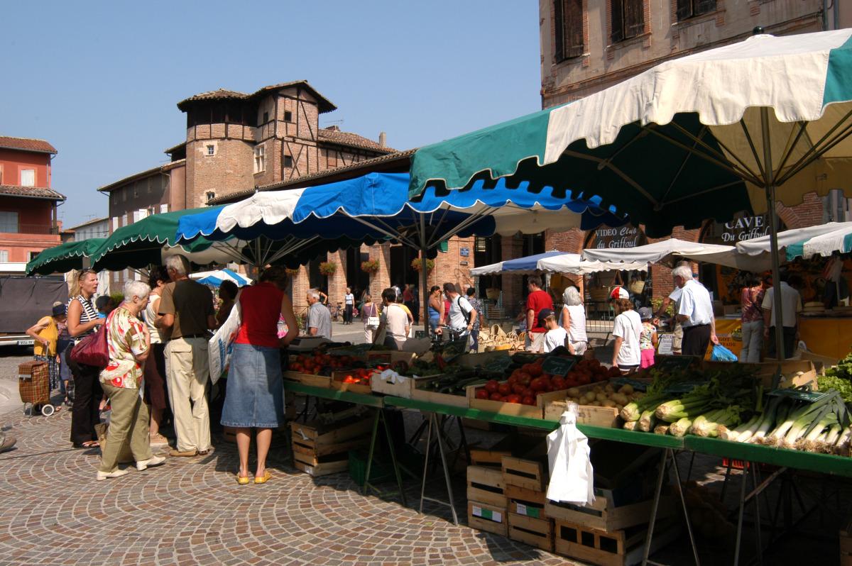 Petit marché de Gaillac