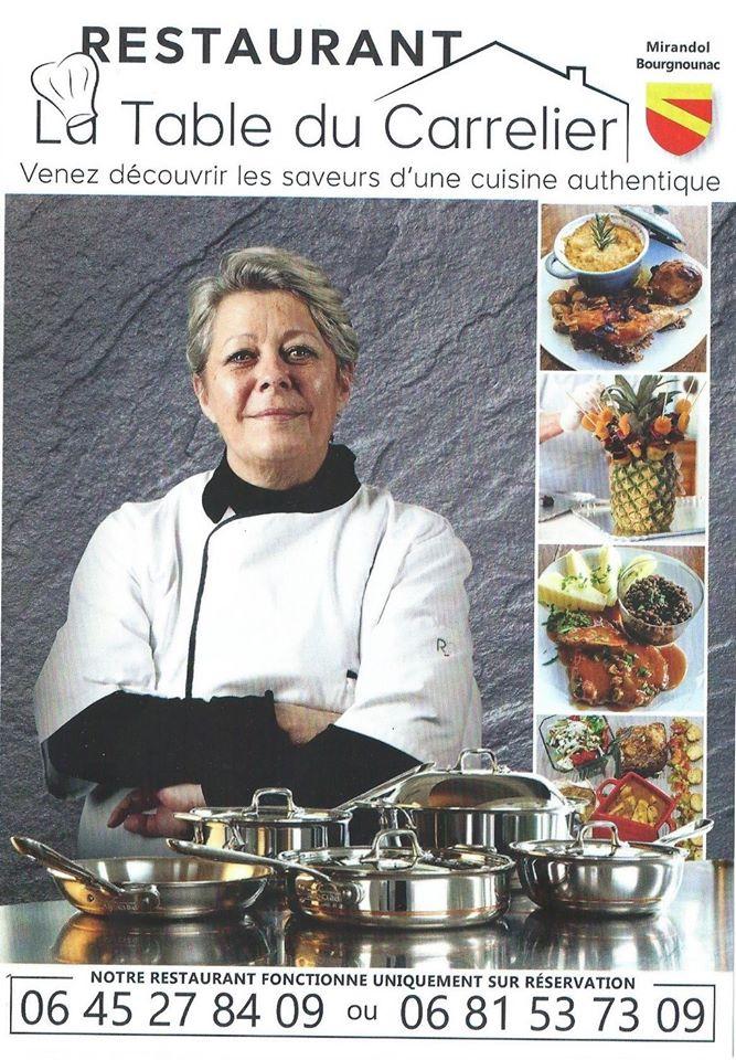 Restaurant «Le Carrelier» et Traiteur à Domicile