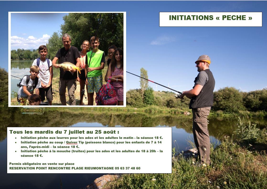 Base de loisirs du Lac du Laouzas «Initiation pêche au coup»