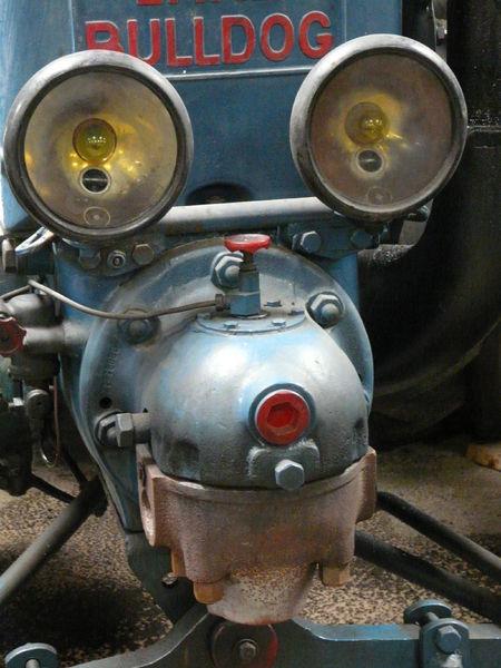 Musée des battages et des anciens tracteurs