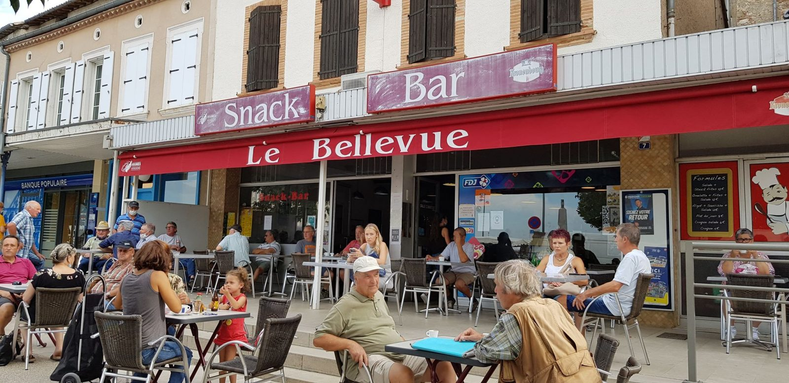 Cafe « Le Bellevue »