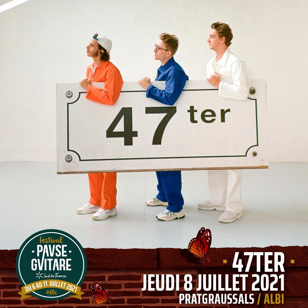 47ter pause guitare albi festival 2021