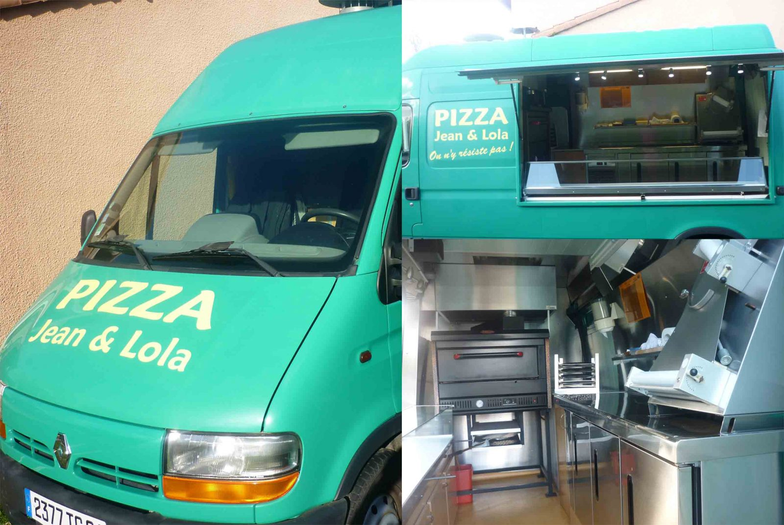 Jean & Lola – Pizzéria Food Truck