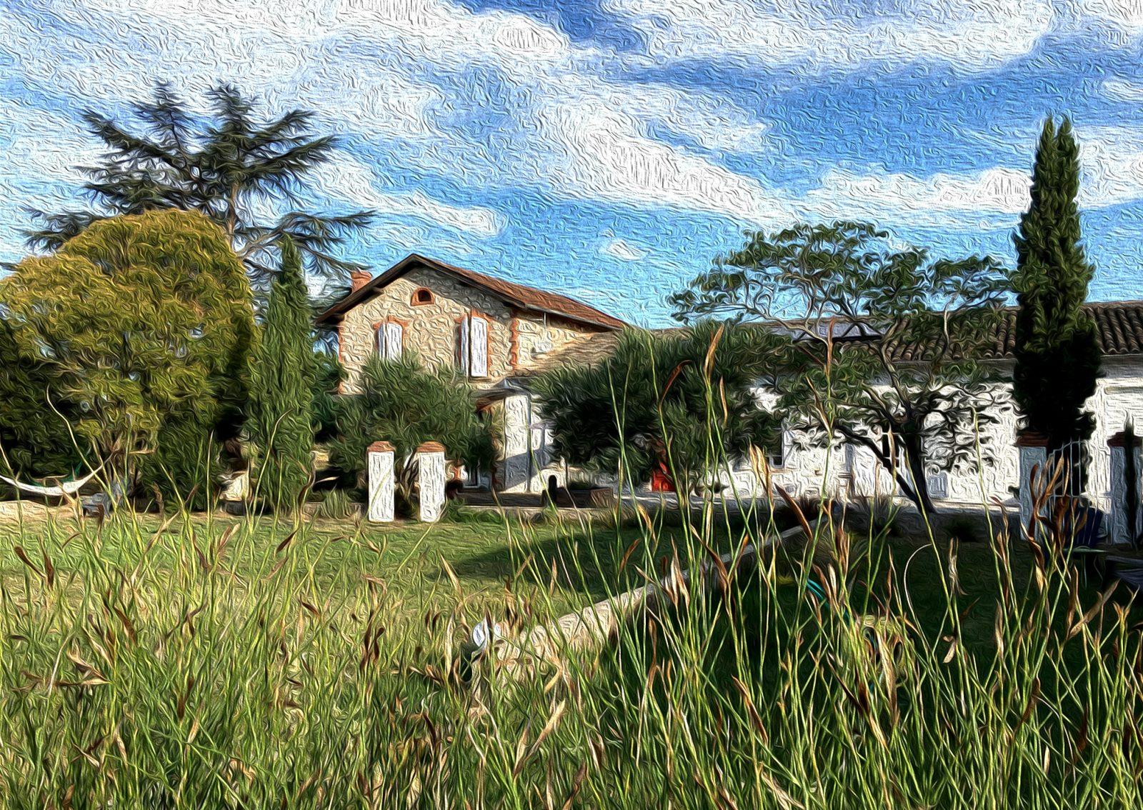 La maison côté sud