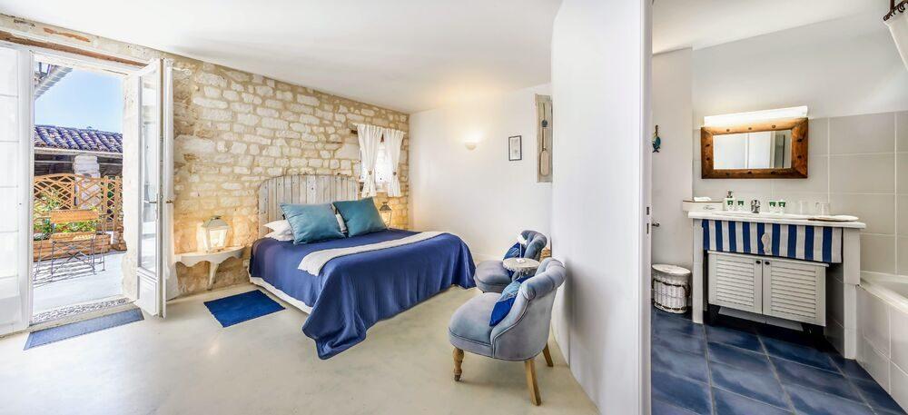 Chambre d'hôte «Les Vents Bleus» à Donnazac