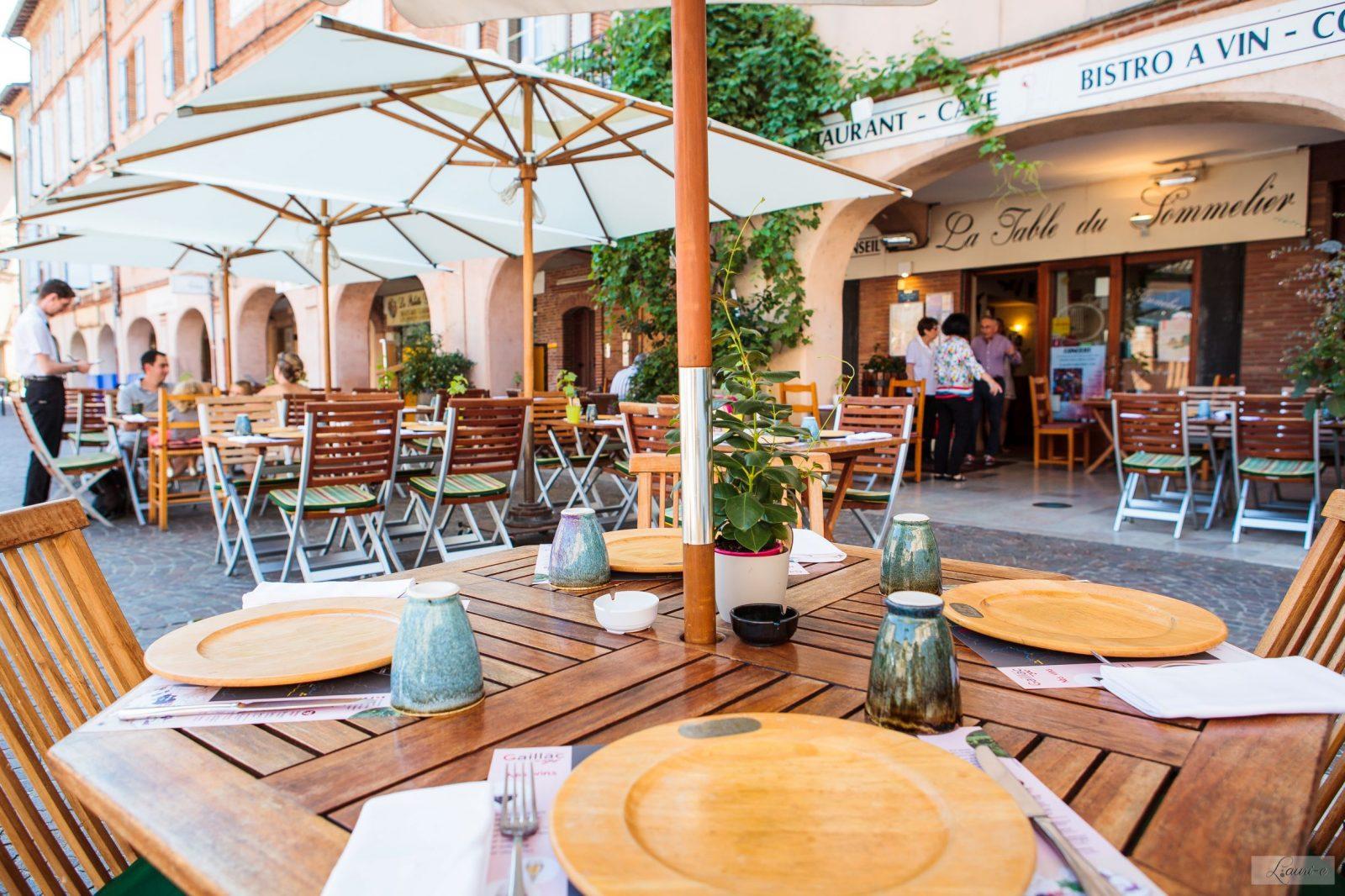 La Table du Sommelier- Terrasse