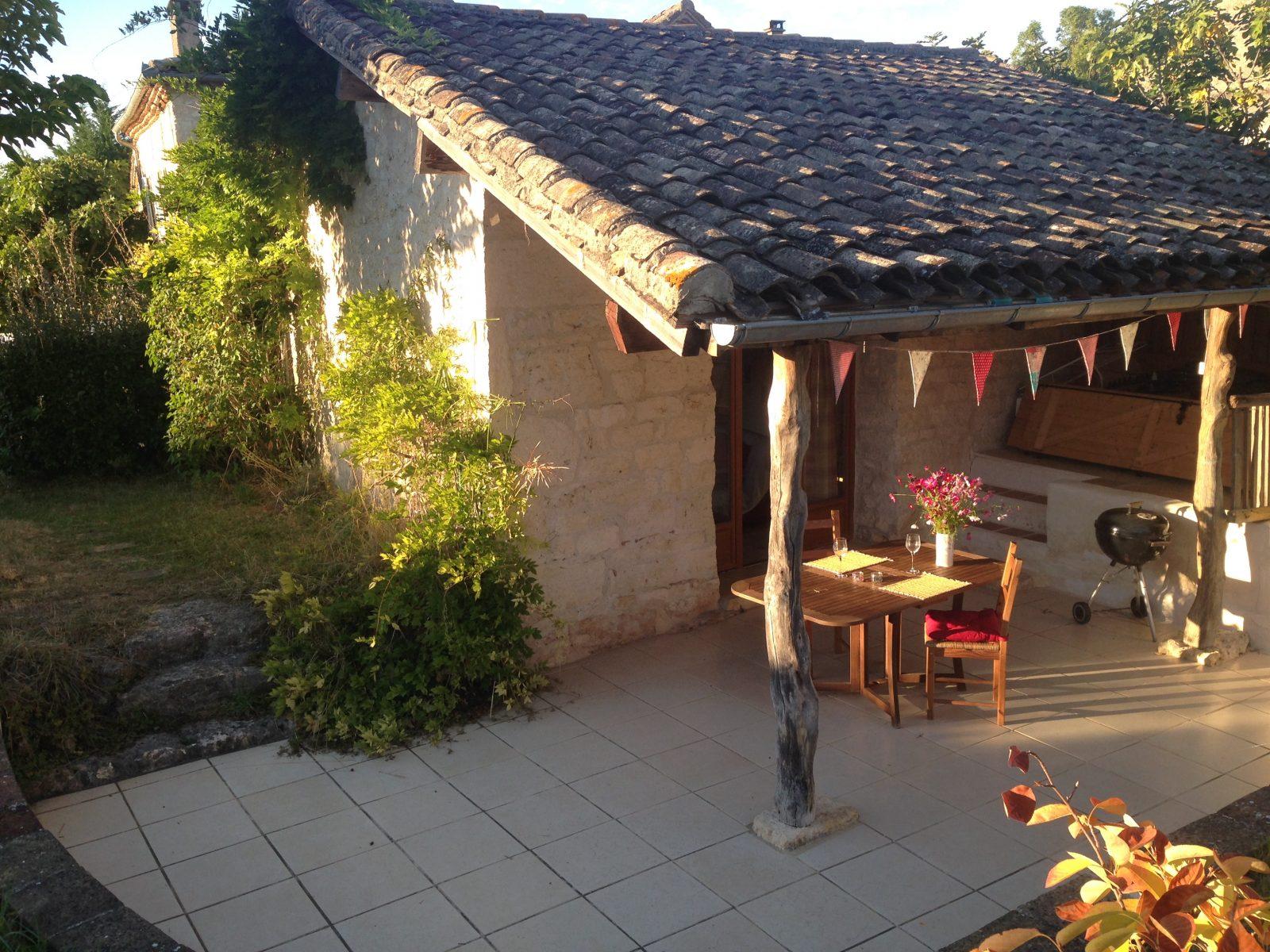 La terrace privative