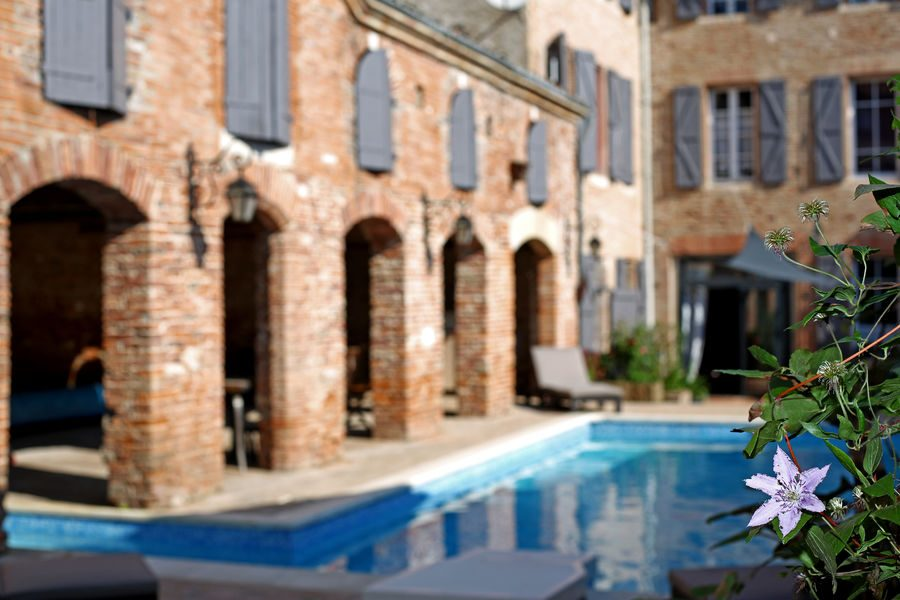 Hotel Particulier Delga – piscine