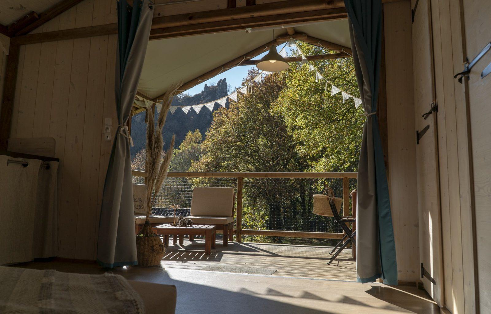 Camping les Tarrasses du Viaur