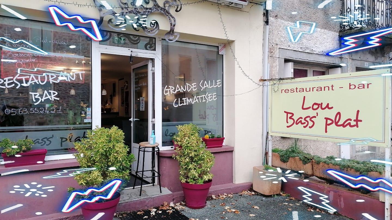 Café – Restaurant Lou Bass' Plat