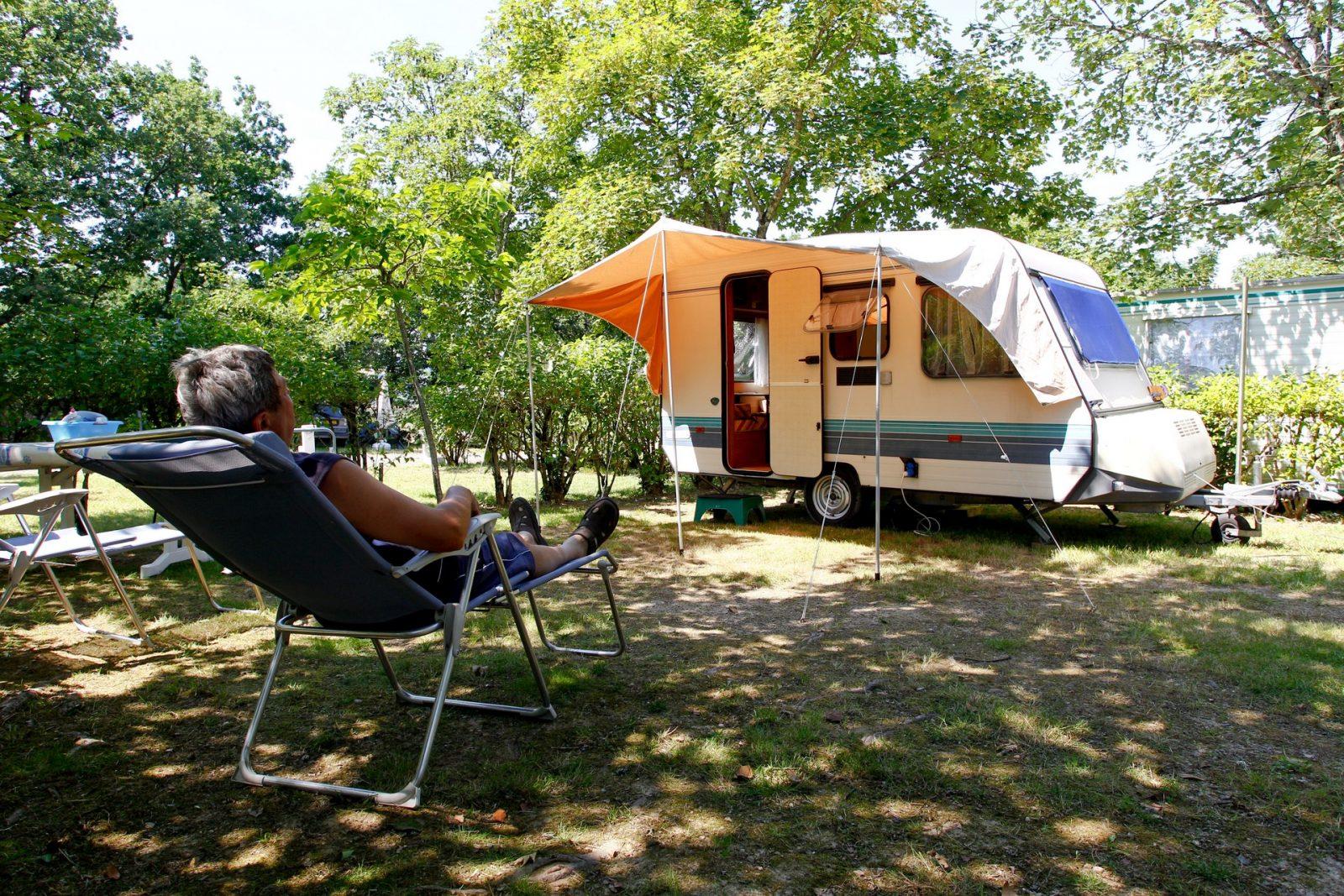 Camping O Bleu Pastel