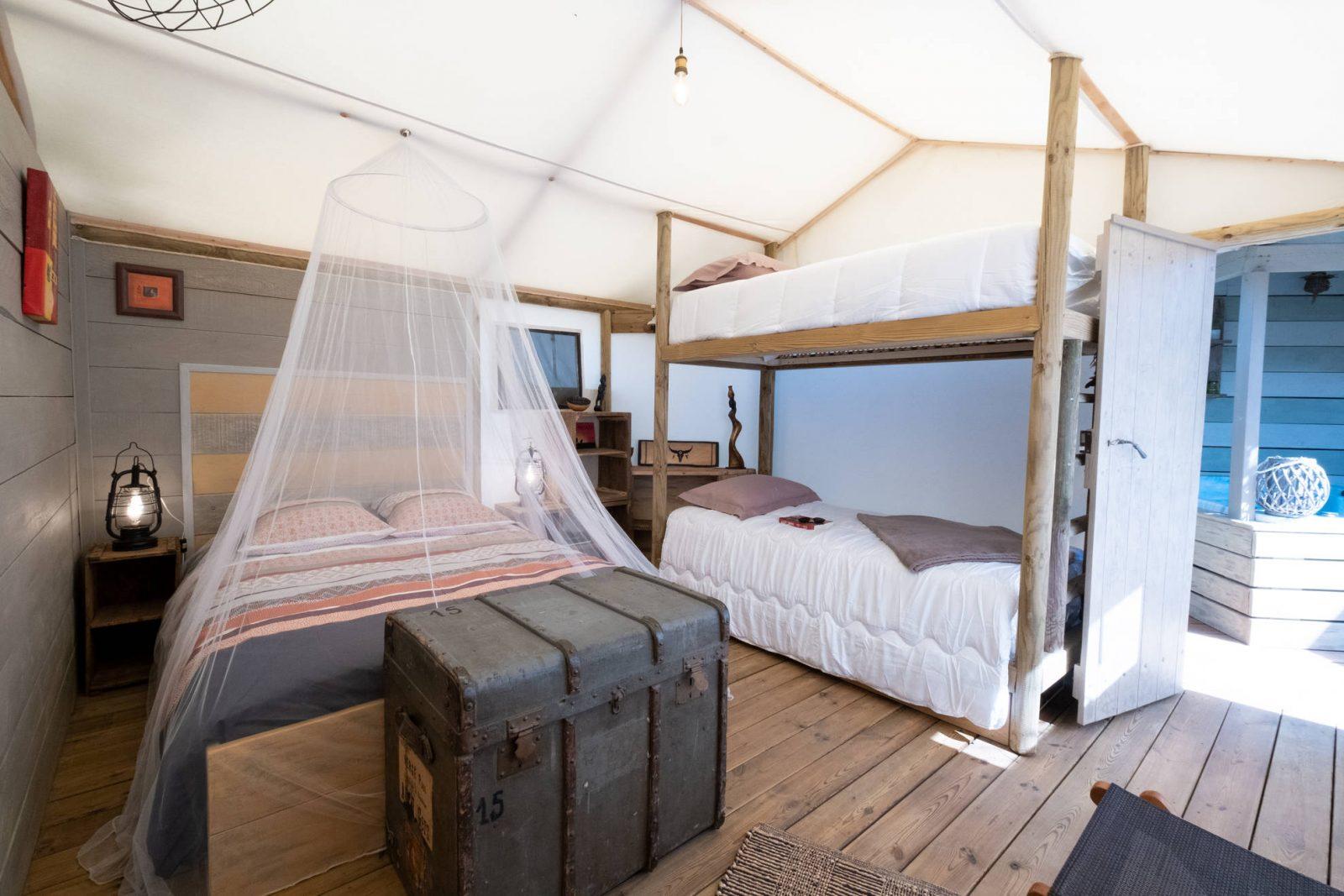 Escapade insolite dans le Tarn : La Tente Safari Lodge et Spa privatif