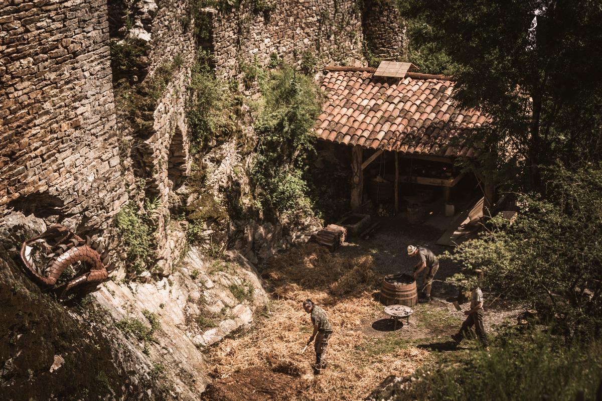 Castelroc village
