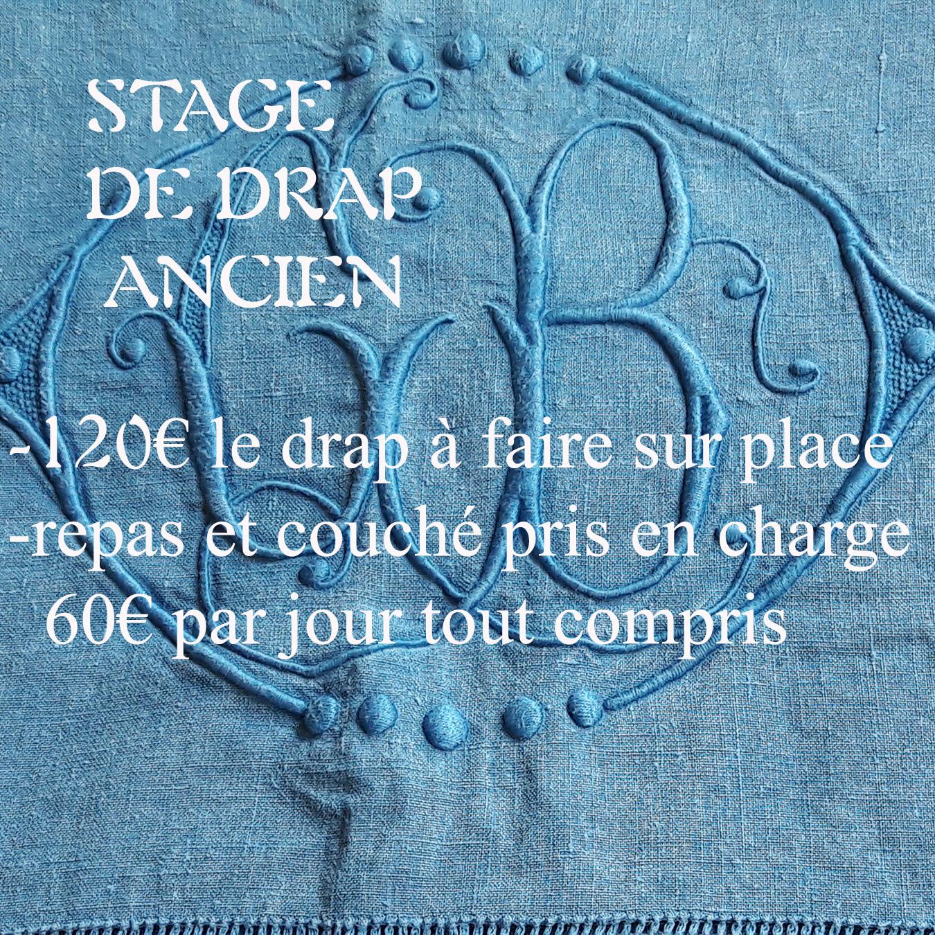 Stage de drap ancien