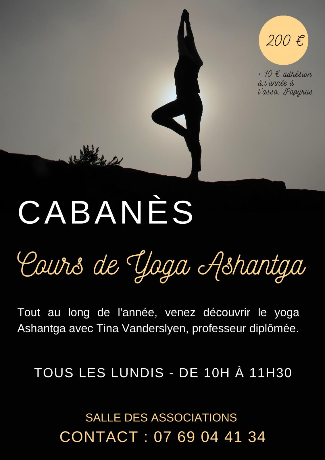 Yoga à Cabanès