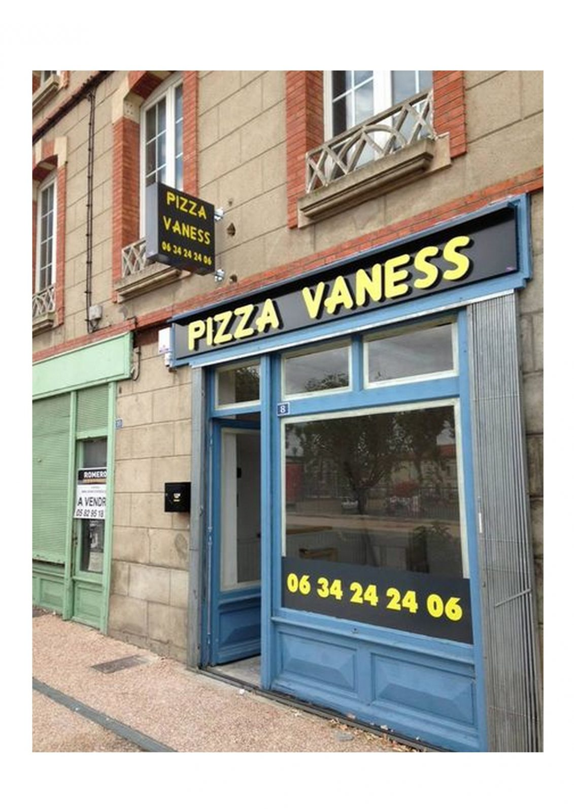 Pizza Vaness – Saint Paul Cap de Joux