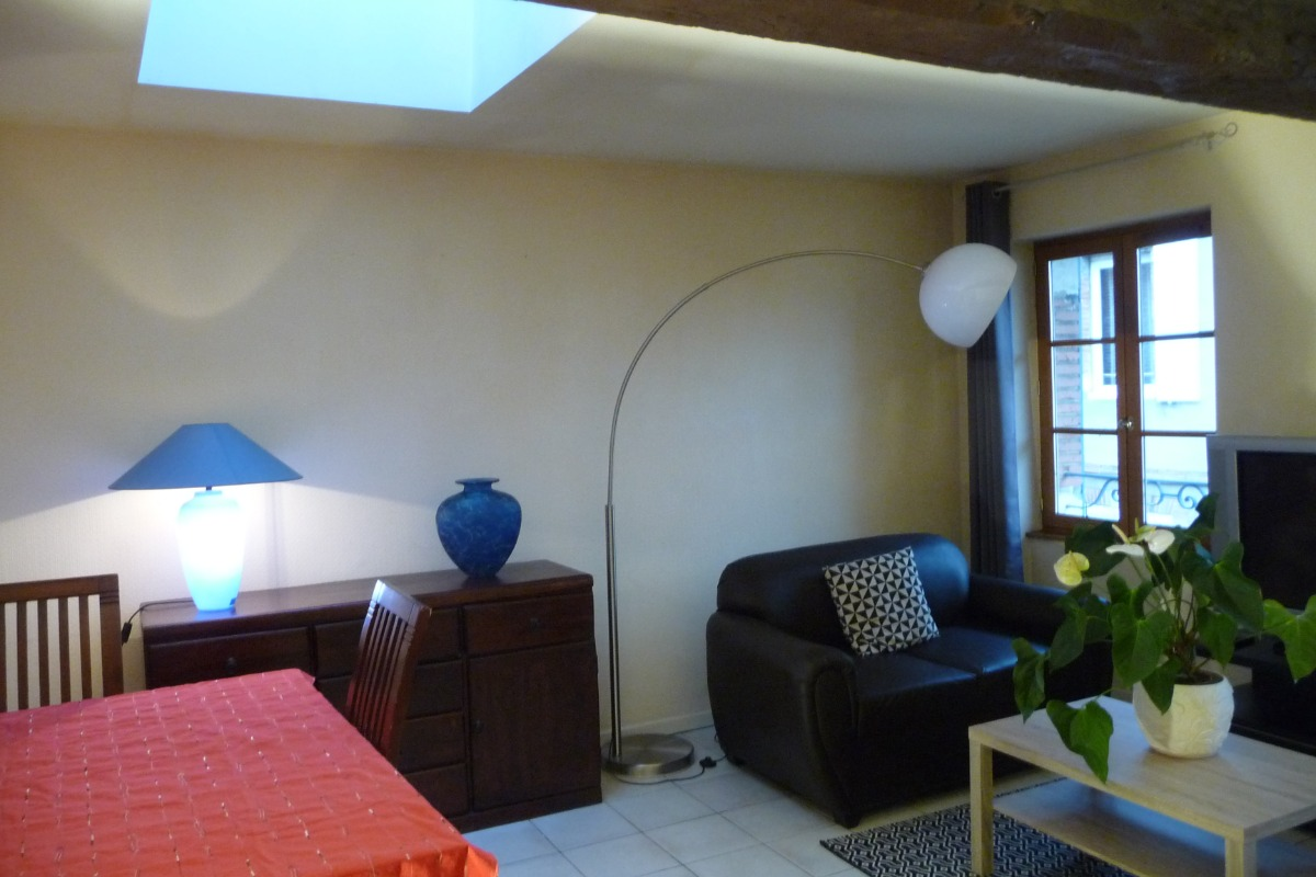 Appartement dans le cloître Saint Salvy à Albi.