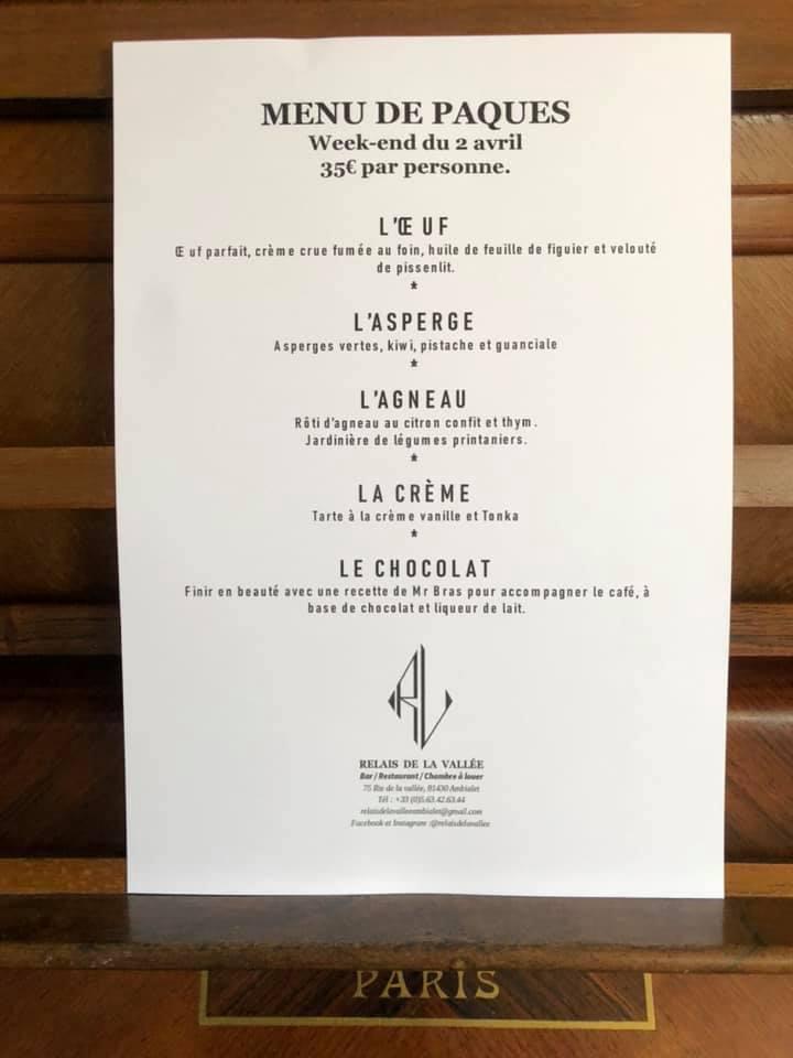 Restaurant Relais de la Vallée