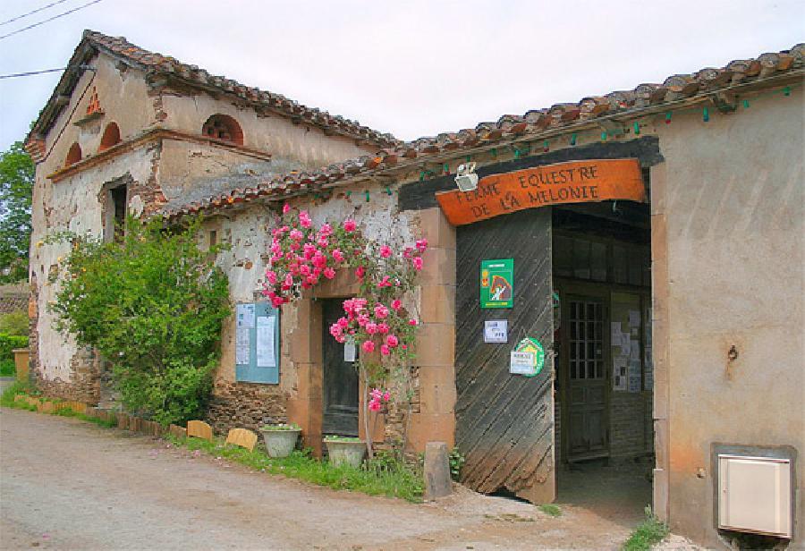La ferme équestre La Mélonié
